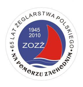 Logo Obchodów 65 lat żegl.